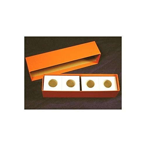 Single Row Storage Box /& 100 2x2 Holders for QUARTERS by Guardhouse