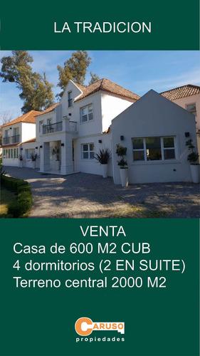 Casa En La Tradicion 600 M2 4 Dormitorios