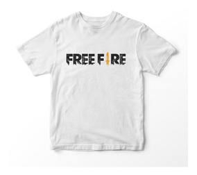Playera Free Fire Logo