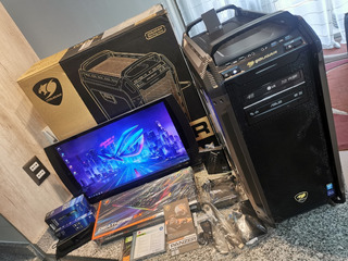 Pc Gamer Asus, I7, 32gb Ram, Monitor 3d , Teclado Y Mouse