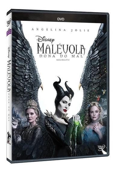 Dvd: Malévola 2 Dona Do Mal - Original Lacrado