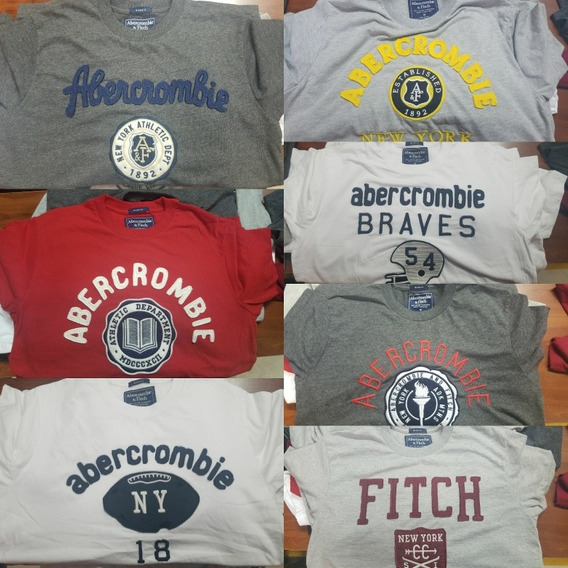 Camiseta Abercrombie E Hollister