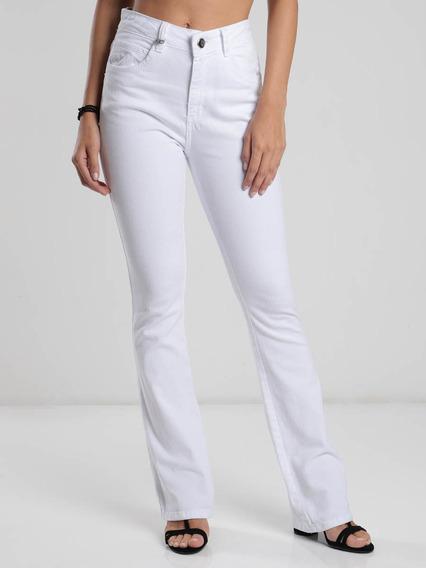Calça Jeans Flare Max Denim Super Elástica