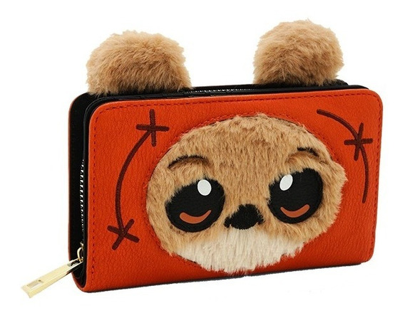 Disney Star Wars Ewok Billetera ( No Loungefly ) Nuevo!!