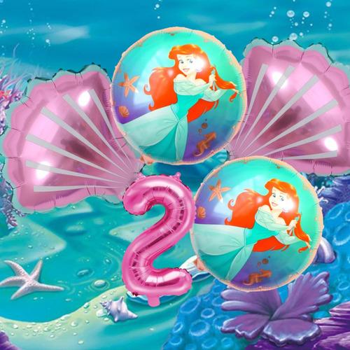 Globos La Sirenita, Princesa Ariel