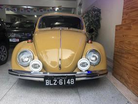 Volkswagen Fusca 1500 Placa Preta 1972