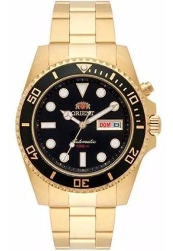 Relógio Orient Dourado Masculino Automático 469gp066 Origina