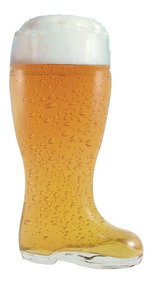 Copo Bota Cerveja Chopp Vidro Formato Stiefel M 620ml