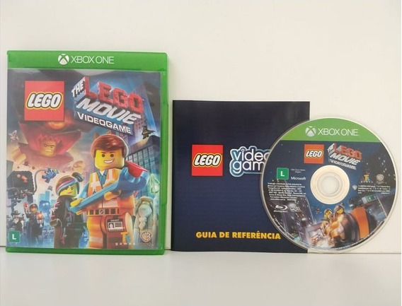 The Lego Movie Videogame Xbox One Midia Física Completo