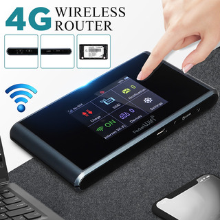 Actualizado 4g Pantalla Táctil Wifi Router Lte 150mbps De Al