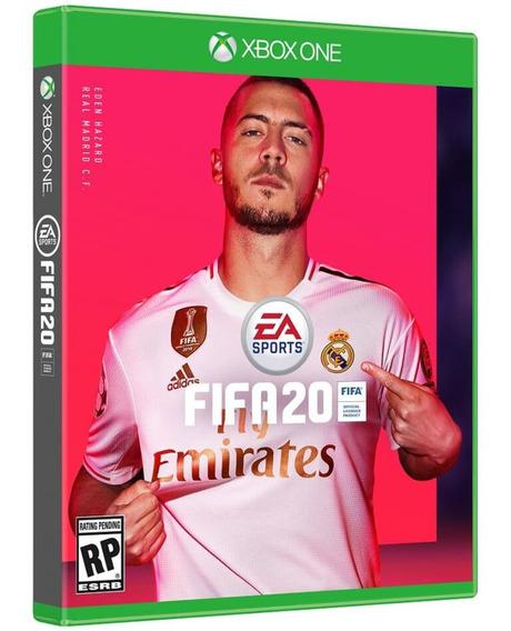 Jogo Fifa20 Xbox One Disco Fisico Novo Português Futebol Br