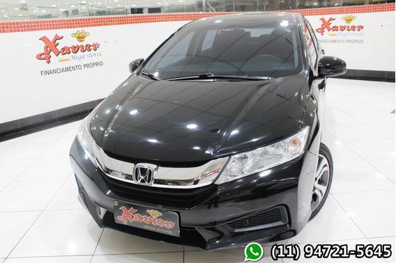 Honda City Lx 1.5 Aut 2017 Preto Financiamento Próprio 5216