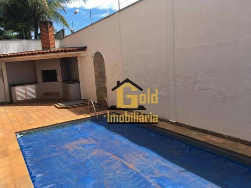 Casa Com 4 Dormitórios Aluga/vende, 324 M² Por R$ 620.000 - Ribeirânia - Ribeirão Preto/sp - Ca0779