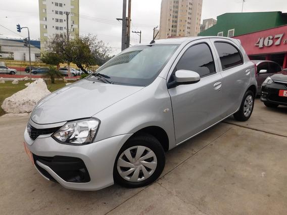 Toyota Etios 1.3 X 2018 Prata