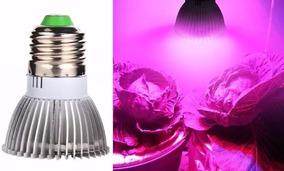 Led Full Espectrum 18w Grow Lampada Para Cultivo 3 Unidades
