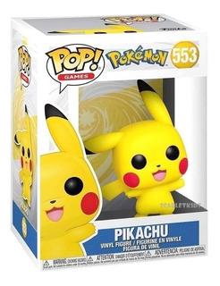 Funko Pop Pokemon Pikachu 553 Original Scarlet Kids