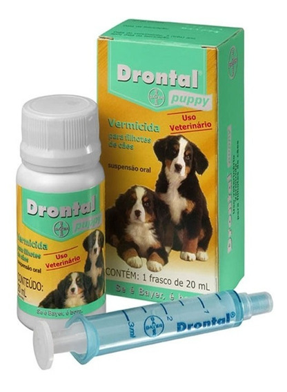 Drontal Puppy 20ml - Bayer