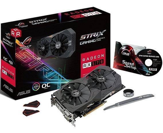 Tarjeta De Video Asus Strix Rx570 Oc 4gb Gaming