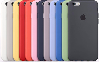 Carcasa Case iPhone Original Silicona 6 7 8 6/7/8pls 10 X Xs