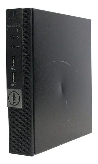 Computador Mini Dell Optiplex 7040m I5 6° Geração 4gb 120ssd