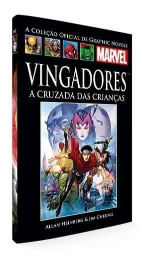 Livro Hq Graphic Novels Vingadores - A Cruzada Das Crianças