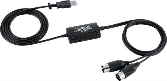 Interface De Áudio Roland Midi/usb Um-one Mk2