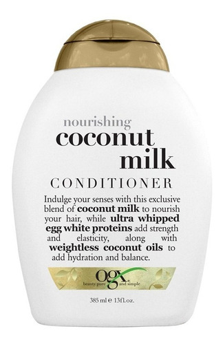 Ogx Acondicionador Coconut Milk X 385 Ml