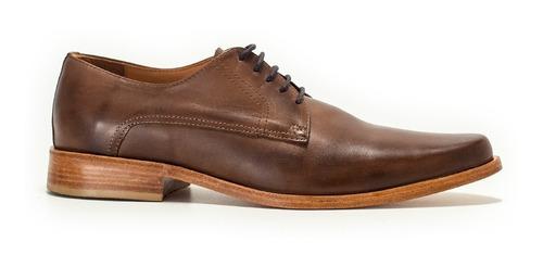 Zapatos De Vestir Hombre Cuero Suela Cordones Envio Gratis