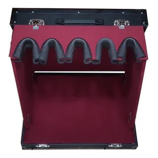 Stand Para 4 Guitarras Desmontable Con Case