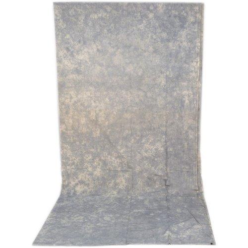 Impacto De Fondo De Muselina Tie-dye (10 X 12, Gris Pizarra)