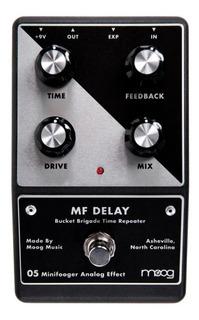 Moog Pedal Efectos Minifooger Analog Delay Mfs-delay Cuotas