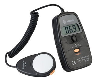 Medidor Digital De Luminosidad (luxómetro) | Her-410