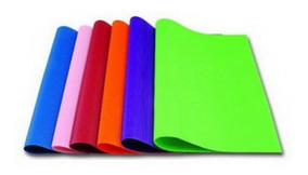 50 Folhas Papel Color Set 120gr Papelaria Arte Escolar