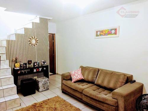 Sobrado Com 2 Dormitórios Para Alugar, 68 M² Por R$ 350.000/mês - Vila Antonieta - São Paulo/sp - So1094