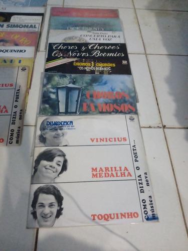 Imagem 1 de 10 de Vendo 126 Disco Vinil E Tres Coletania