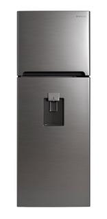 Refrigerador Gris Y Despachador 11pies Daewoo Dfr-32210gmdx