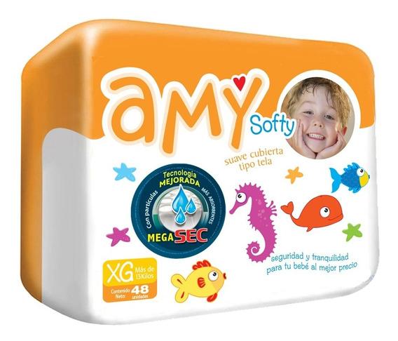 Pañales Desechables Amy Softy Talla Xg Por Bulto