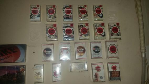Cajas De Coleccion Cigarrillos Camel Y Lucky Strike