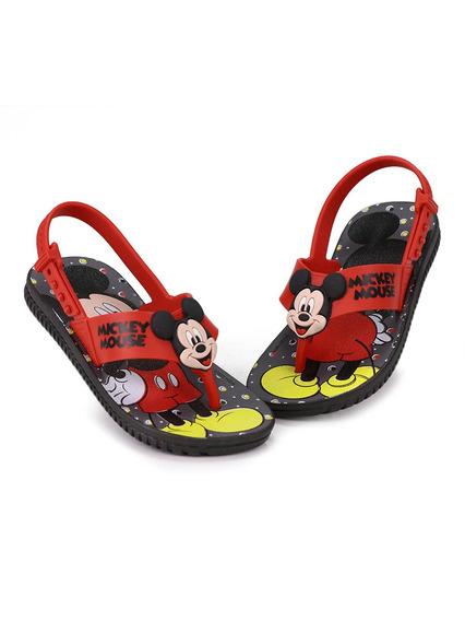 Sandália Rasteira Infantil Grendene Mickey