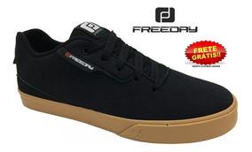 Tênis Skate Freeday F1 Preto/natural 42506