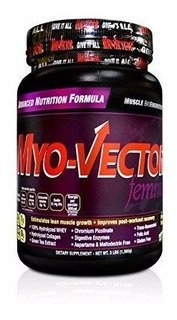 Proteina Myo Vector Femme 3 Lbs Zero Sabor Cookies And Cream
