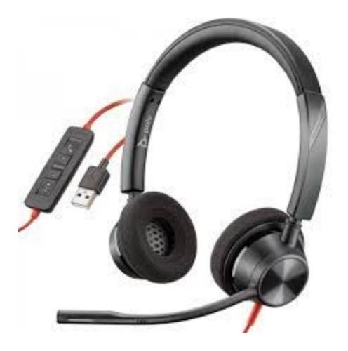 Imagem 1 de 1 de Headset Plantronics Blackwire Bw3320-m Usb-a 214012-101
