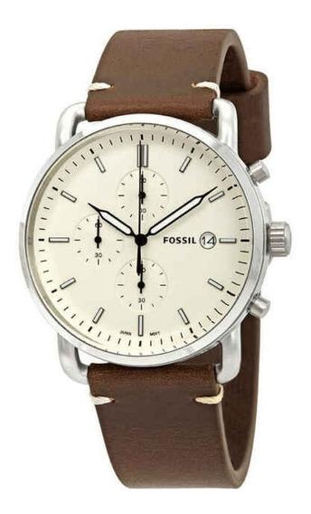 Relógio Fossil Leather Fs5402