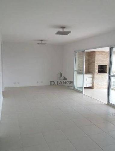 Imagem 1 de 15 de Apartamento Com 3 Dormitórios À Venda, 137 M² Por R$ 1.190.000,00 - Alphaville - Campinas/sp - Ap16597