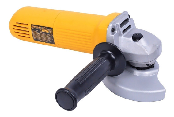 Esmerilhadeira angular DeWalt DWE4010 de 60Hz amarela 127V