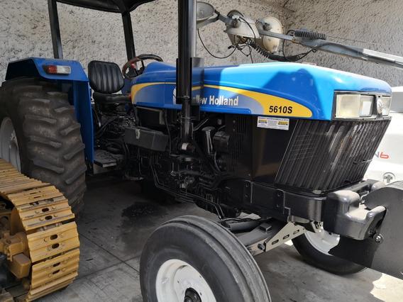 Tractor Agrícola New Holland 5610 2wd Seminuevo