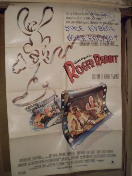 Saldo- Quien Engaño Roger Rabbit- Escrito Reverso-ver Fotos