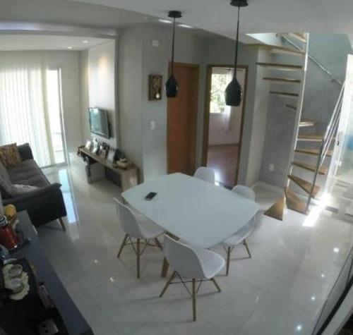 Imagem 1 de 13 de Cobertura À Venda, 90 M² Por R$ 555.000,00 - Rudge Ramos - São Bernardo Do Campo/sp - Co2637