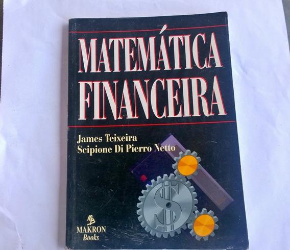 Matemática Financeira James Teixeira E Scipione Di Pierro