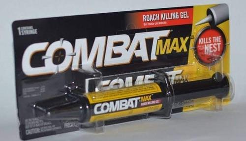 Gel Combat Mata Cucarachas Y Chiripas 100% Original